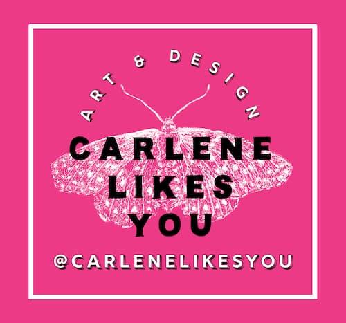 CarleneLikesYou Logo
